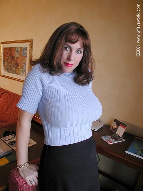 Tits In Tight Sweaters