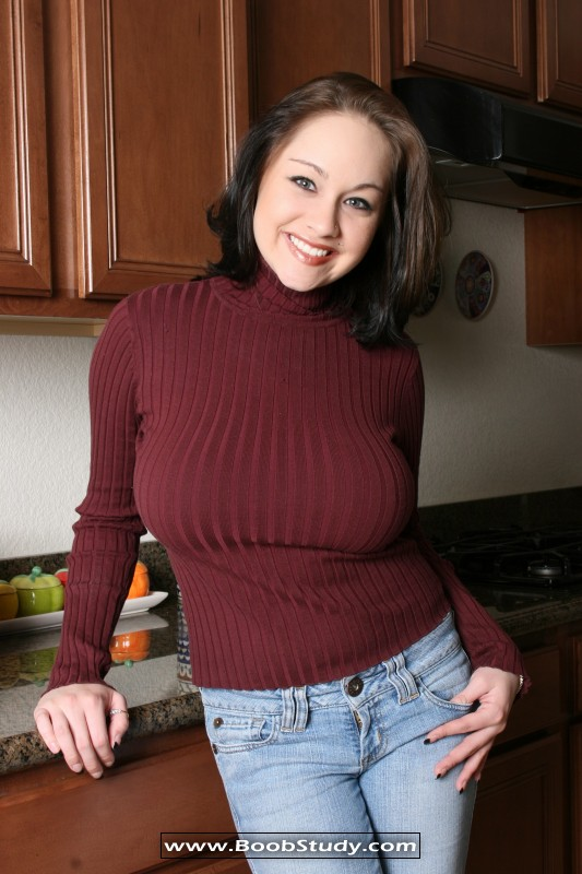 Tight sweaters big tits